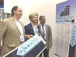 RenewSys booth at WFES, Abu Dhabi
