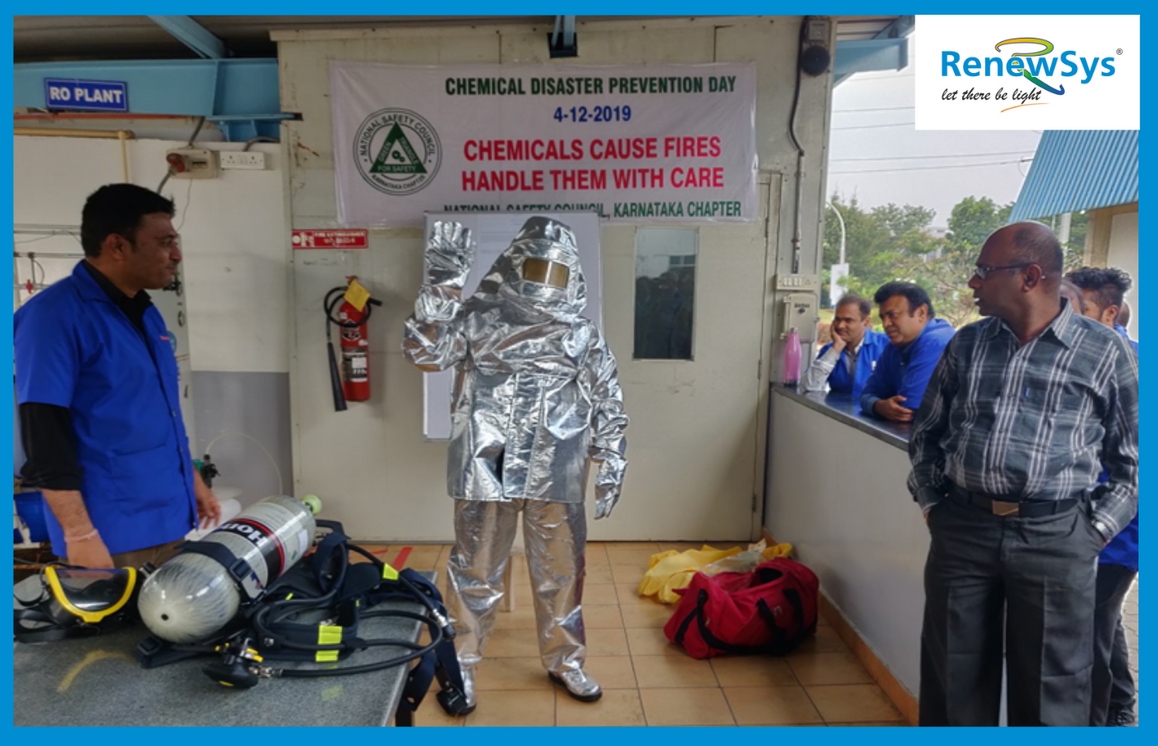 Chemical Disaster Prevention Day celebra