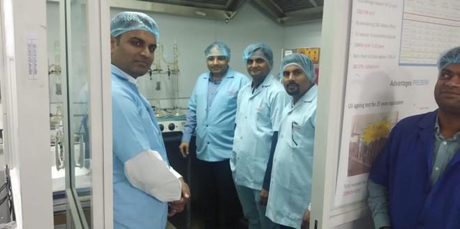 Open House, RenewSys PV Lab, Bengaluru.j