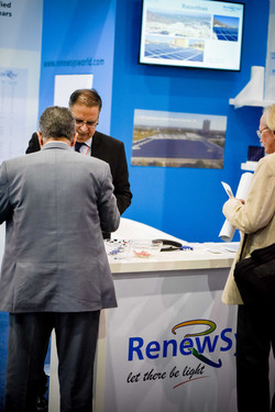 Solar Show Africa- RenewSys booth.