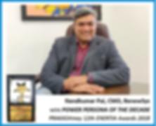Nandkumar Pai, CMO, RenewSys, wins POWER