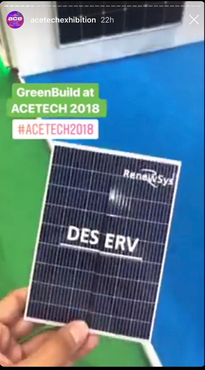 RenewSys at Greenbuild, Mumbai