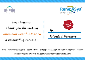 Thank you for meeting us at Intersolar B