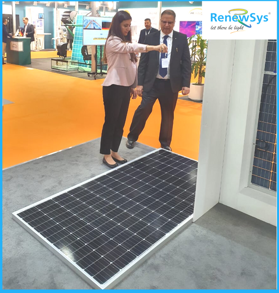 RenewSys booth at WFES - Impact test