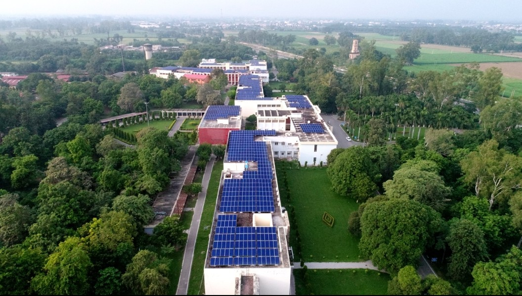 NDRI, Haryana RenewSys Solar Panels