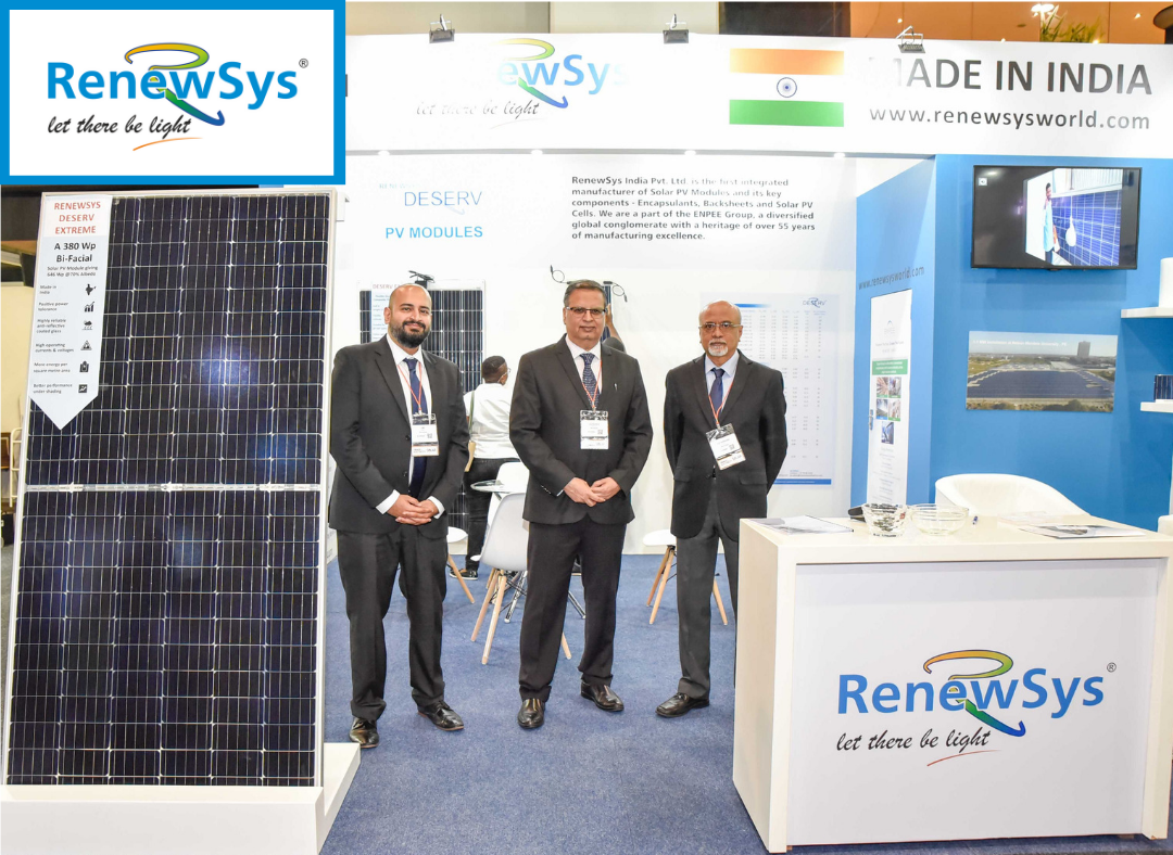 RenewSys at the Solar Show Africa 2019!.