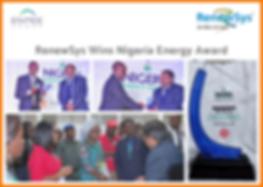 RenewSys Wins Nigeria Energy Awards 2018