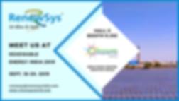 RenewSys invites you to the REI Expo 201