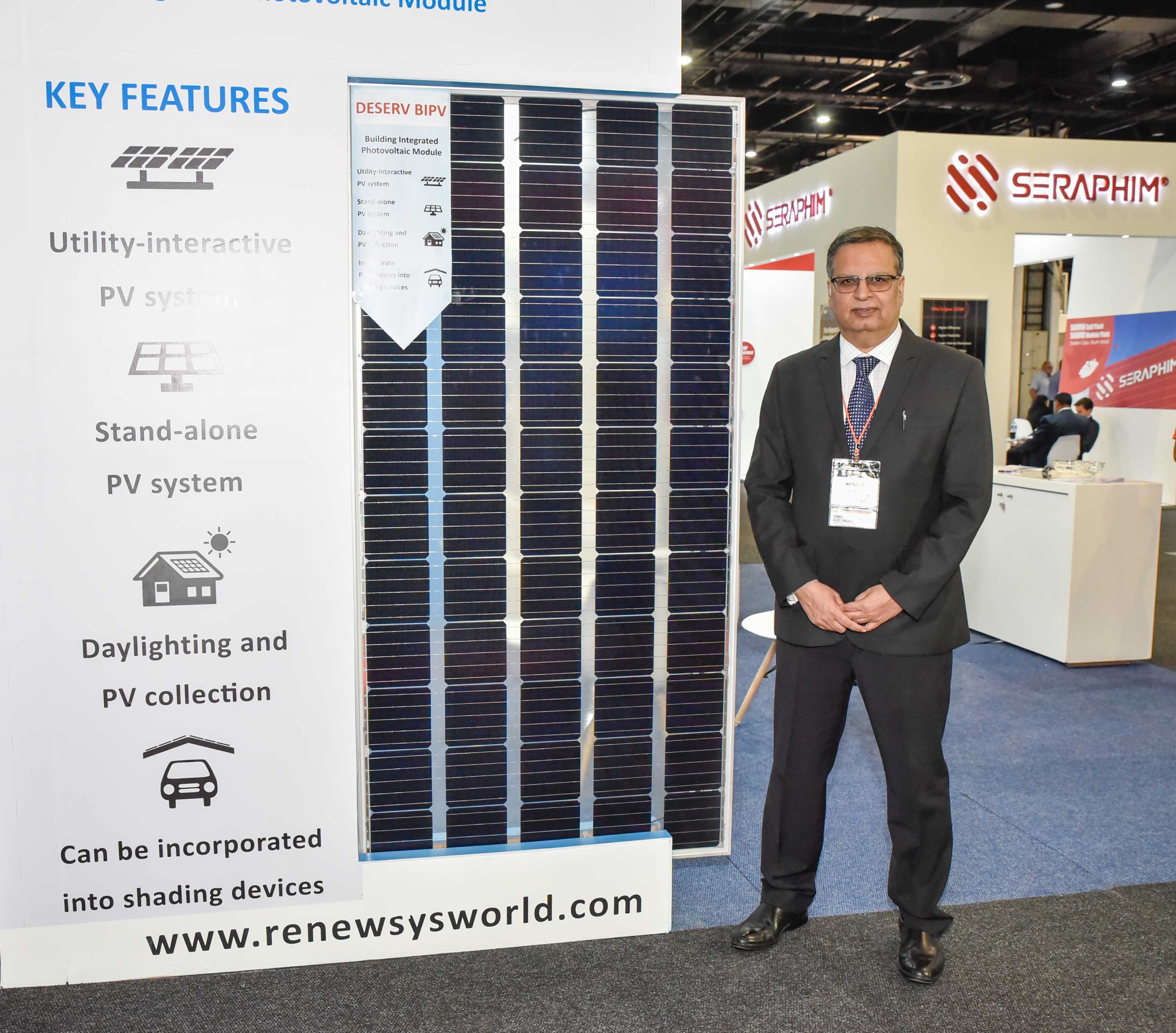RenewSys at the Solar Show Africa 2019..