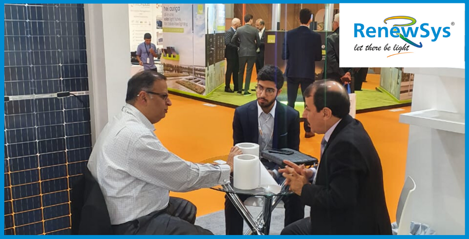 WFES 2020 - RenewSya booth