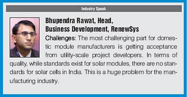 Industry speak, Renewable watch - BSR.pn