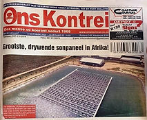 Africa's Largest Floating Solar Power Pl