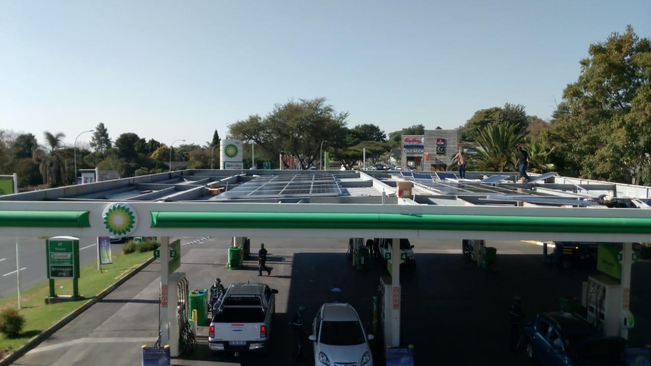 ENGEN fuel station in JHB