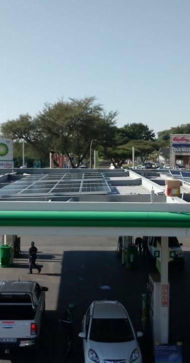 ENGEN fuel station in Johannesburg