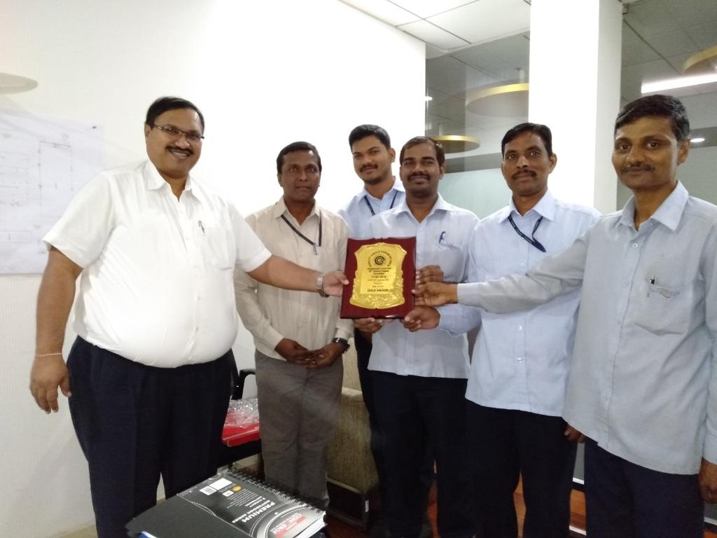 Suraj Quality Circle Award handover to U