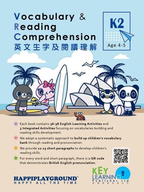 K2 Happiplayground – Vocabulary & Reading Comprehension