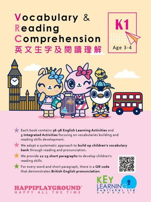 K1 Happiplayground – Vocabulary & Reading Comprehension