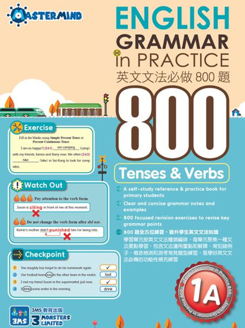 P1 English Grammar in Practice 800 Tenses & Verbs
