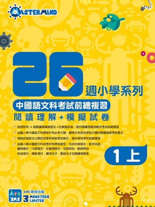 小一 26週中國語文科考試前總複習