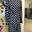 Thumbnail: DRESS LINDA POLKA - DOT BLACK/WHITE