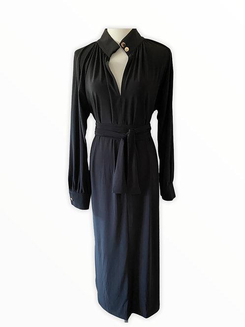 KAFTAN MAXI DRESS BLACK