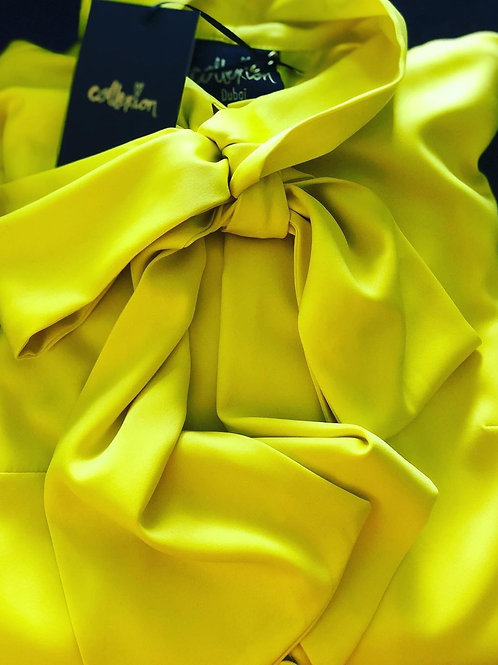 COLLEXION AGNES DRESS BRIGHT YELLOW