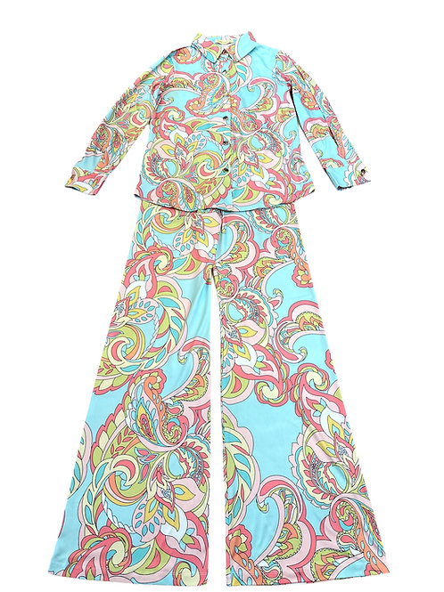 SUIT JAZZY PASTELL PRINT
