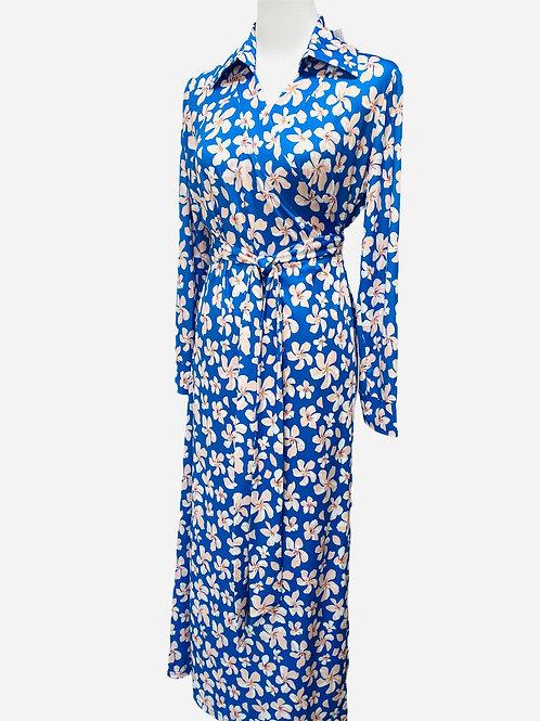 WRAP DRESS STELLA FLOWER PRINT