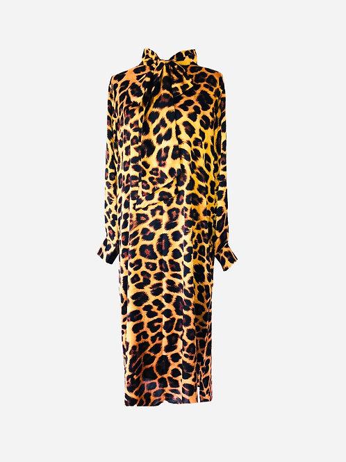 COLLEXION DRESS AGNES LEO PRINT