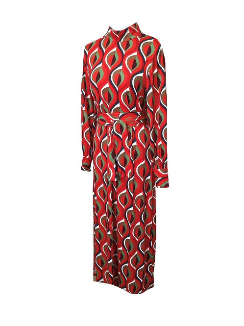 DRESS LINDA RED