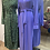 Thumbnail: KAFTAN MAXI DRESS PURPLE