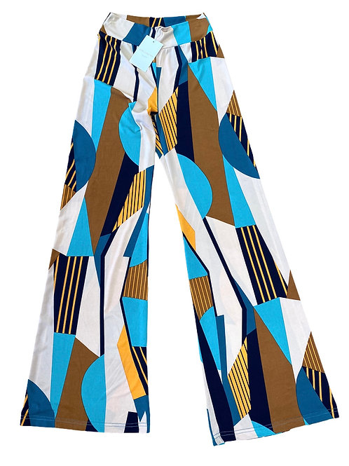 PANTS SOLO BEIGE/BLUE