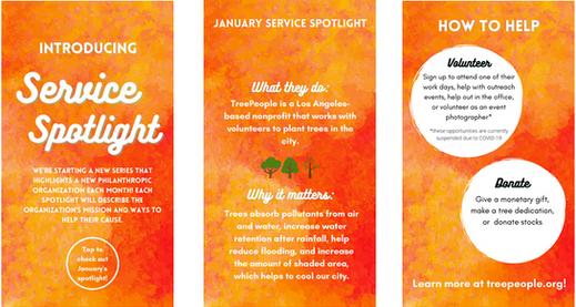 January Service Spotlight: Tree People