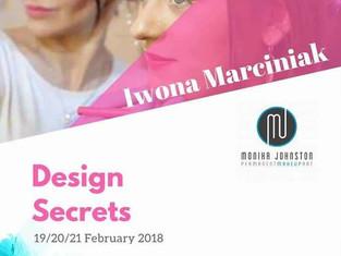 19/20/21 February 2018 - Design Secrets - Training in Dublin