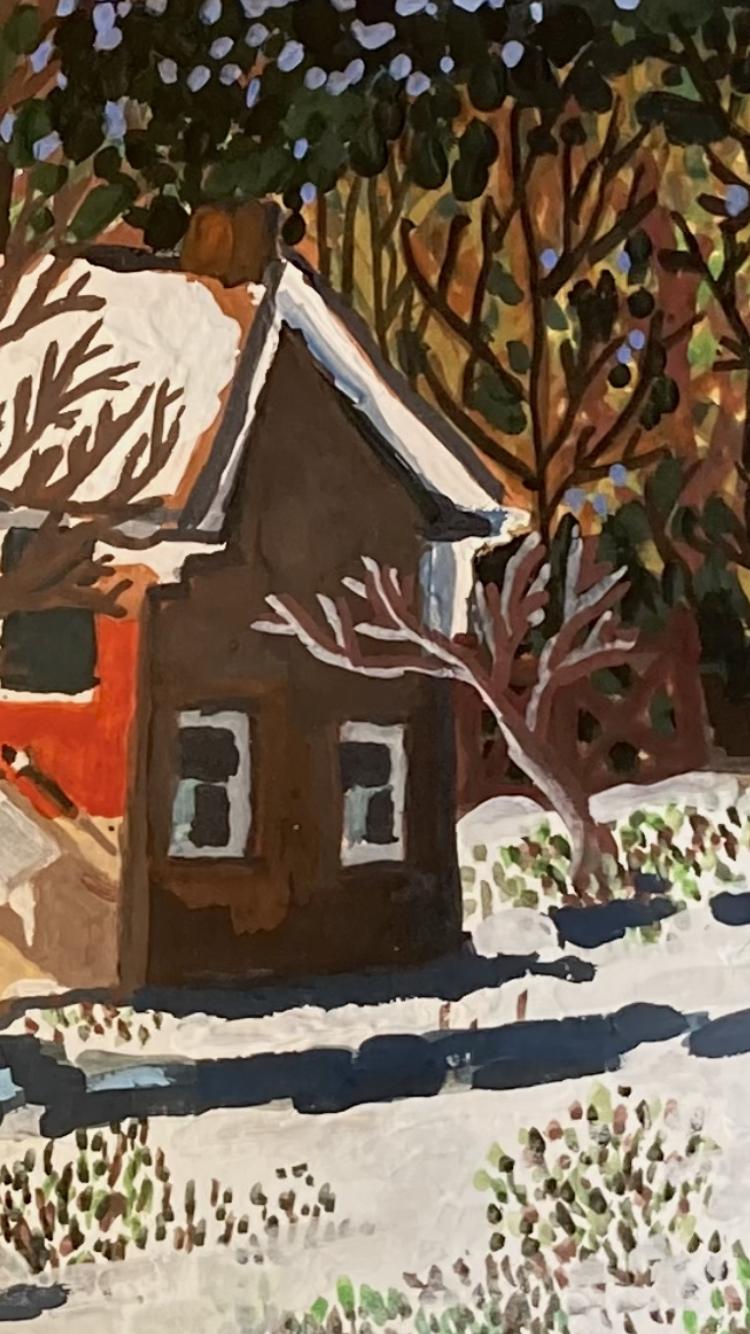 """""""Snowy Floyd"""" Detail"""