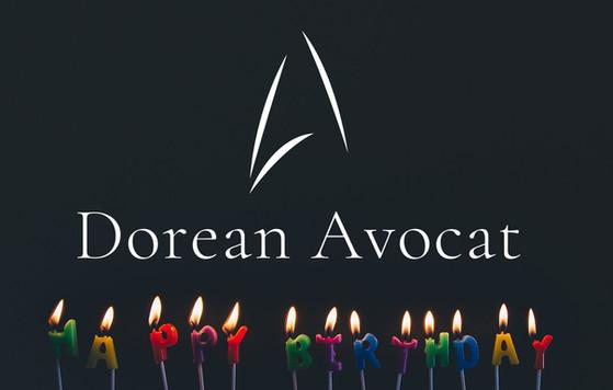 Dorean Avocat fête sa première bougie
