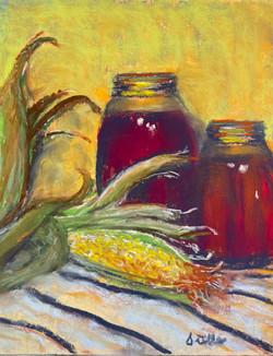 Midwestern Harvest, pastel 10x12