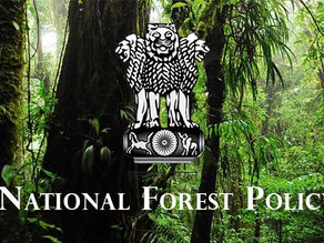 REVIEW OF NATIONAL FOREST POLICY, 1988 IS THE DESIDERATUM OF THE HOUR