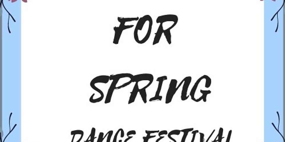 Spring For Spring Dance Festival
