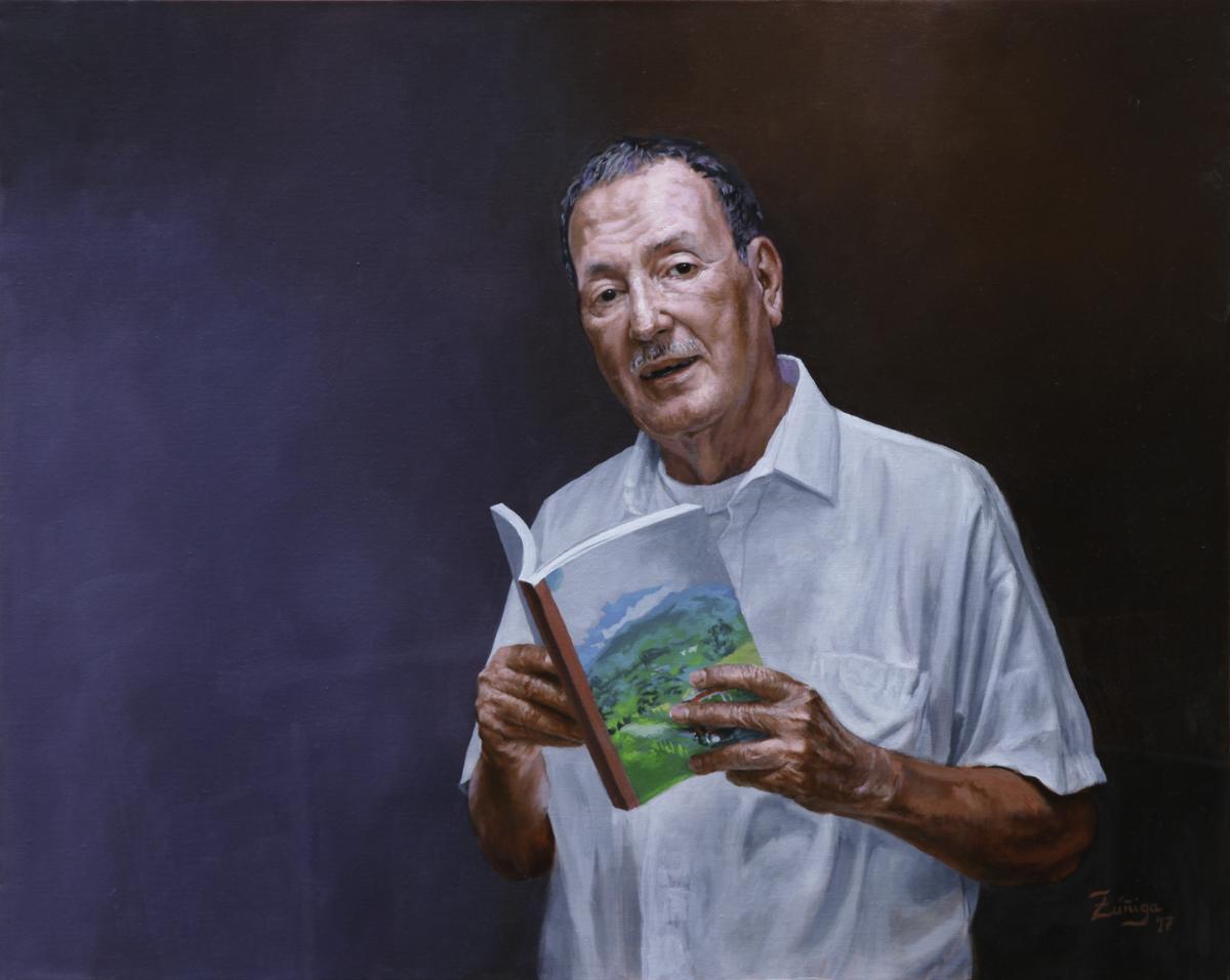 Portrait of Miguel Salguero