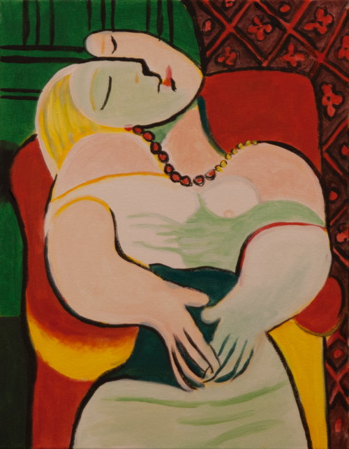 PIcasso Woman
