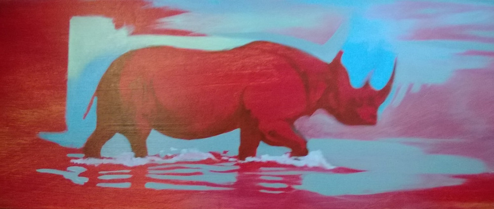 Roy Zuniga, Red Rhino (2013)