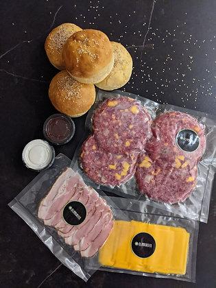 Caja Glamburger Artigas