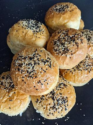 Tortugas de pan brioche caseras