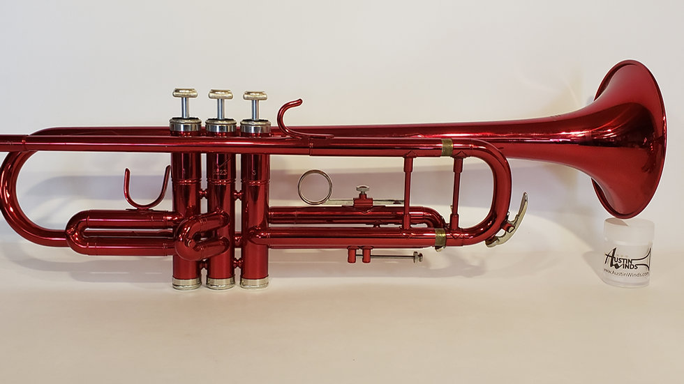 E.F. Durand TR600RD Bb Trumpet Red