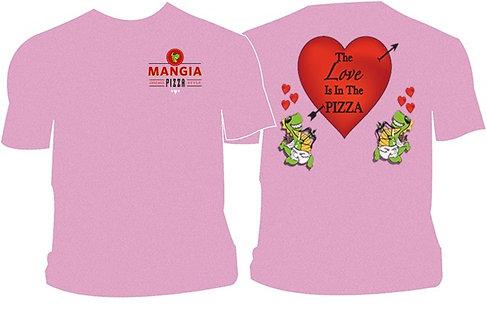 Mangia Valentines Tshirt