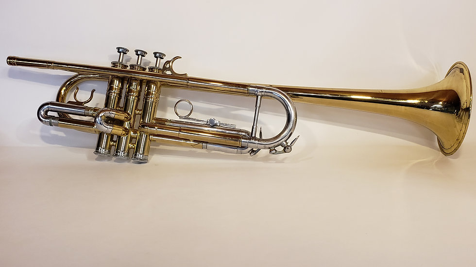 Courtois Long Bell BB Trumpet