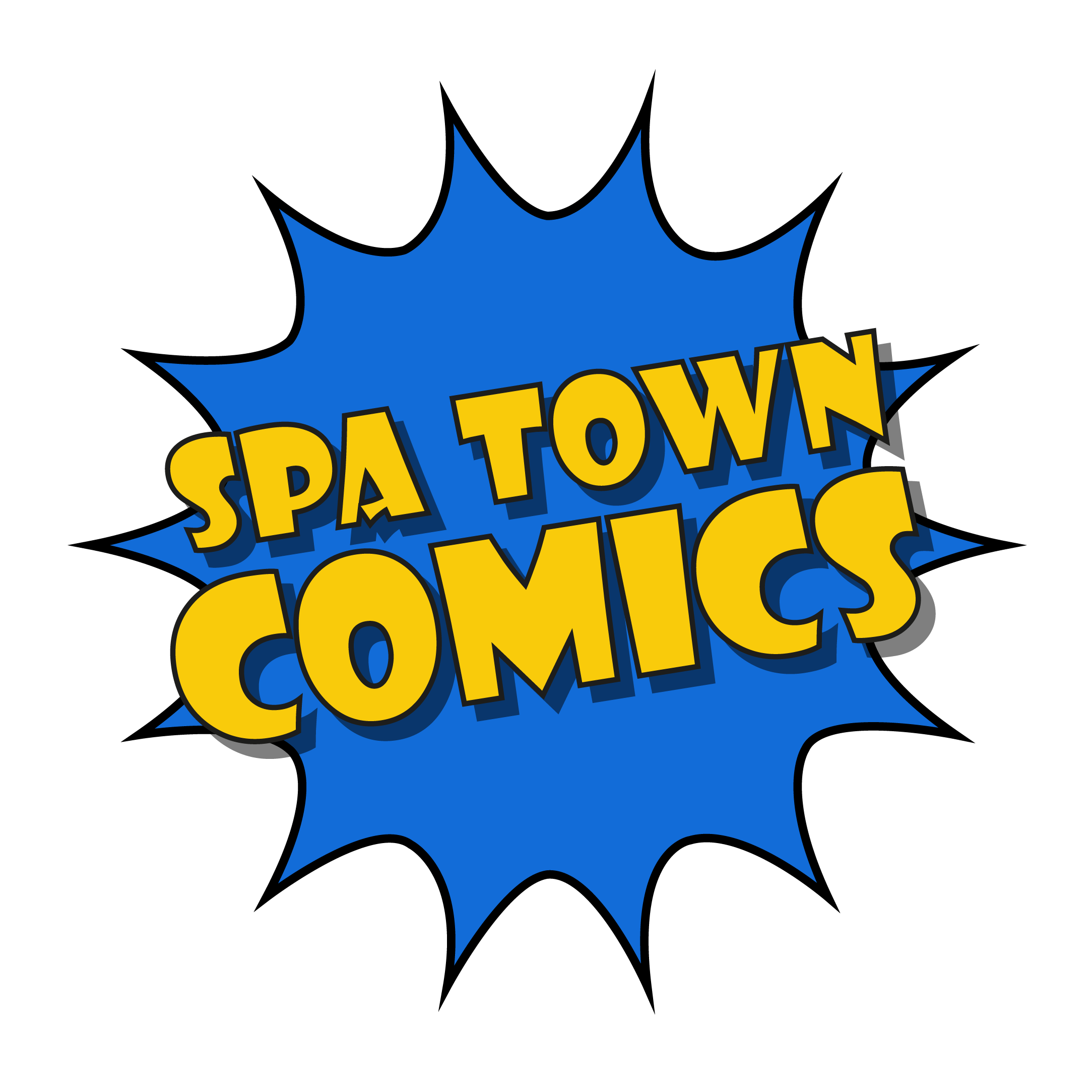 Spa Town Comics Pop-up