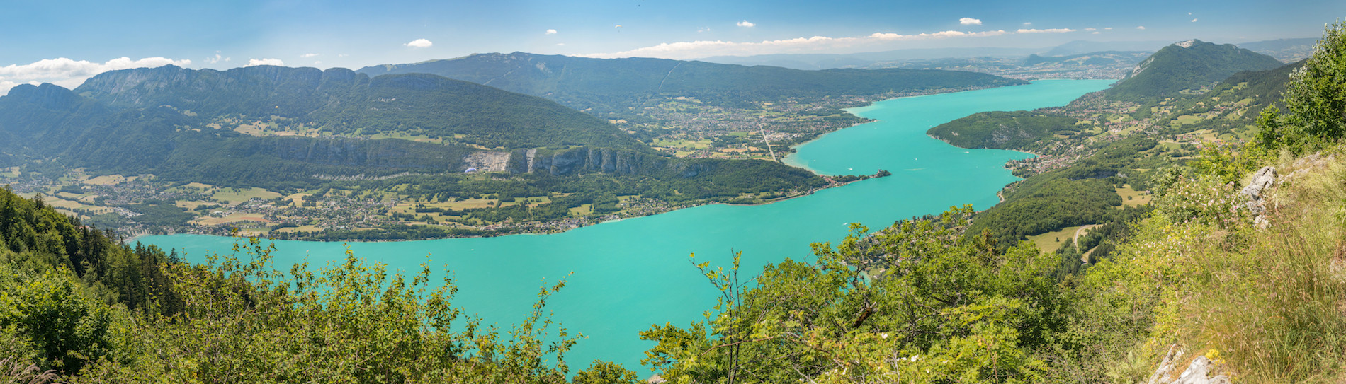 PHOTO Lac Annecy La Forclaz panoramique