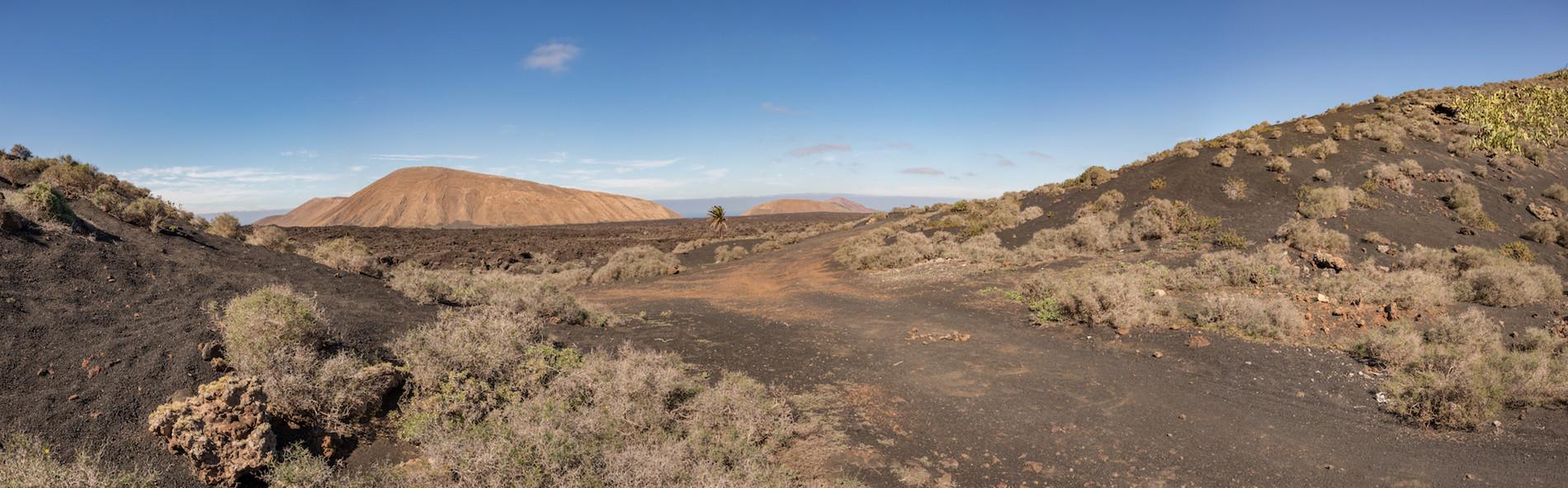 PHOTO Lanzarote Mancha Blanca panoramique